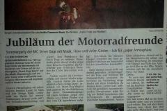 Sommerparty 2014 Zevener Zeitung