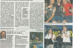 Sommerparty 2012 Zevener Zeitung